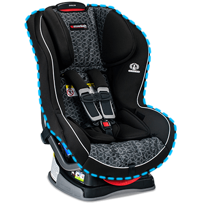 essentials by britax emblem convertible car seat fusion. Black Bedroom Furniture Sets. Home Design Ideas
