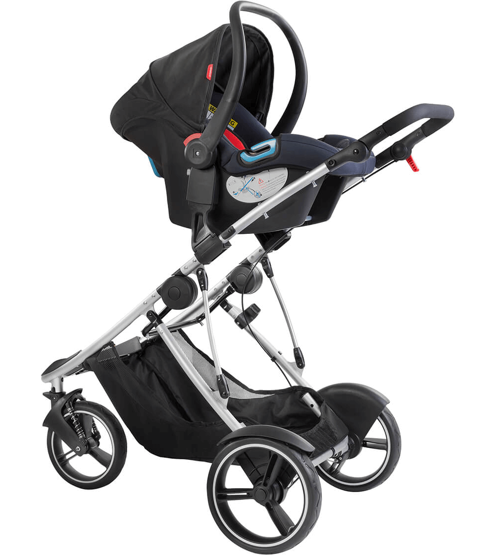 Phil Teds Dash Stroller Red