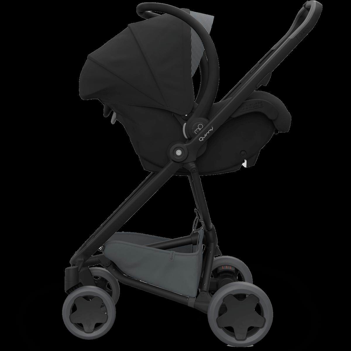 quinny zapp flex plus stroller black on black. Black Bedroom Furniture Sets. Home Design Ideas