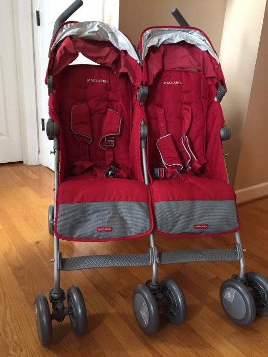 cd48329d713 Maclaren Twin Techno Double Stroller - Cardinal