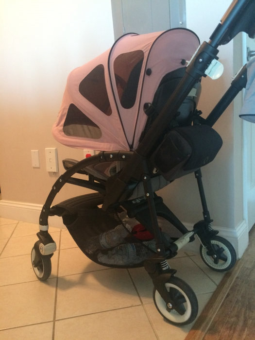 It pushs soooooo smooth! Love it! Canopy is huge! But Iu0027d like it more if the build-in bug net was with elastic as it is in buffalo or donkey or cameleon & Bugaboo Bee3 Stroller Silver - Grey Melange