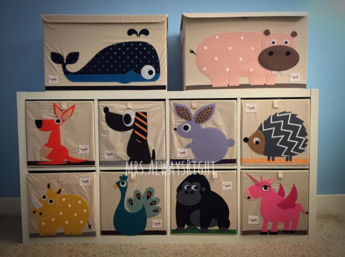 Delightful Best Match With IKEA Shelving Unit! Very Cute