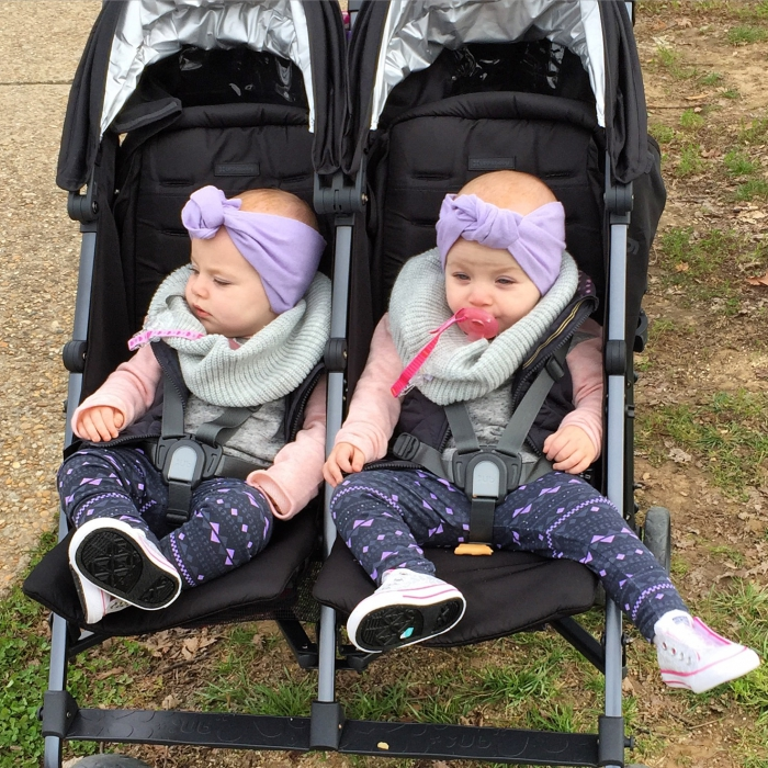 Uppababy G Link Double Stroller Pascal