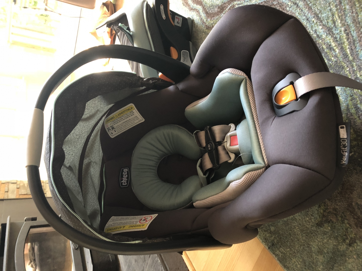 2077095ef Chicco KeyFit 30 Zip Infant Car Seat - Minerale