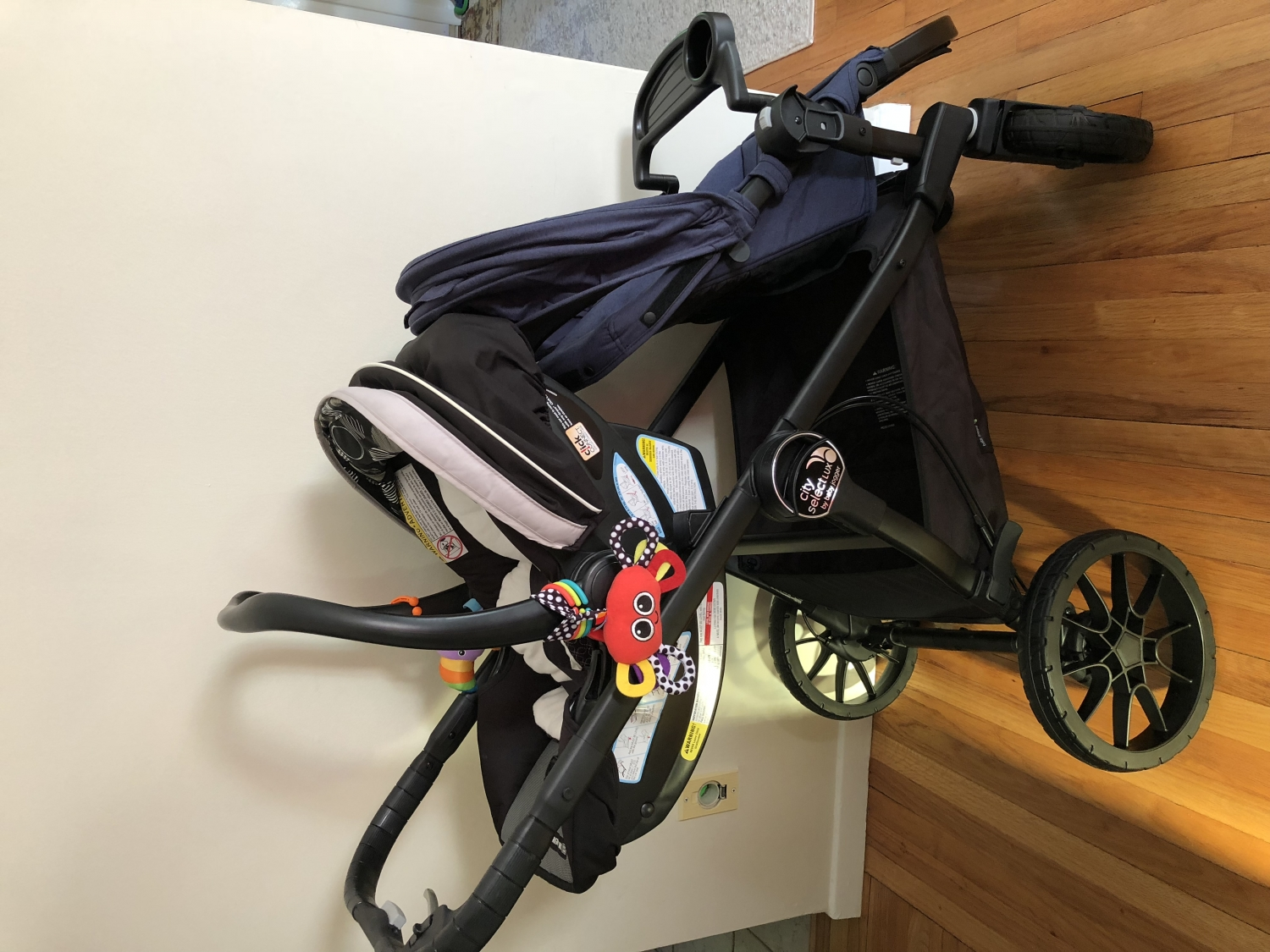 Baby Jogger City Select Lux Double Stroller Granite