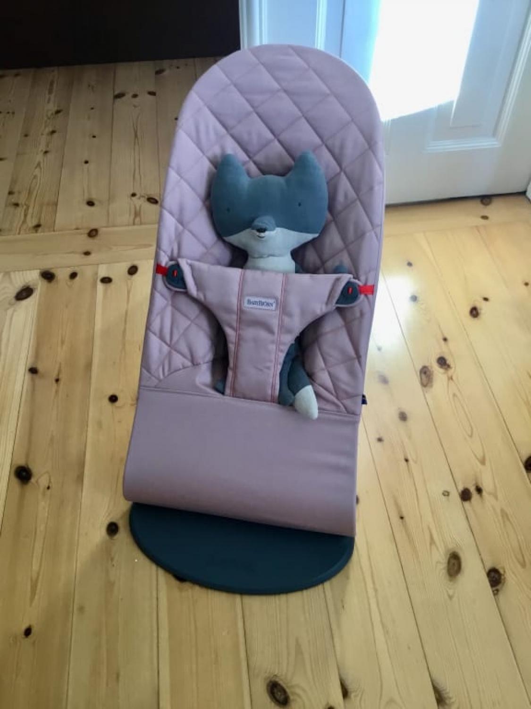 BabyBjörn Bouncer Balance Soft Cotton Khaki Beige
