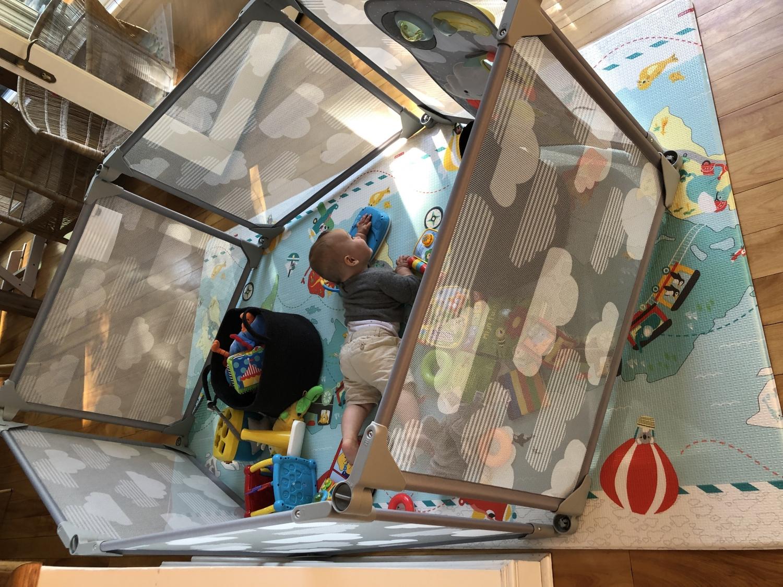 Skip Hop Reversible Playmat-Little Travellers