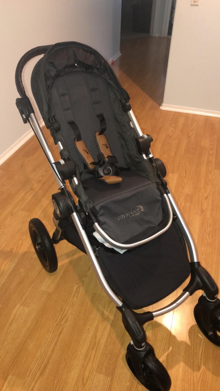 Baby Jogger City Select Single Stroller Titanium
