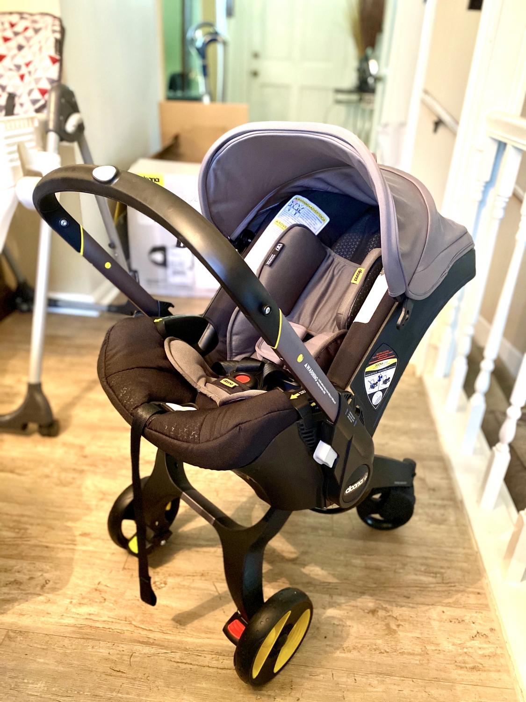 Doona Infant Car Seat & Stroller - Storm (Grey)