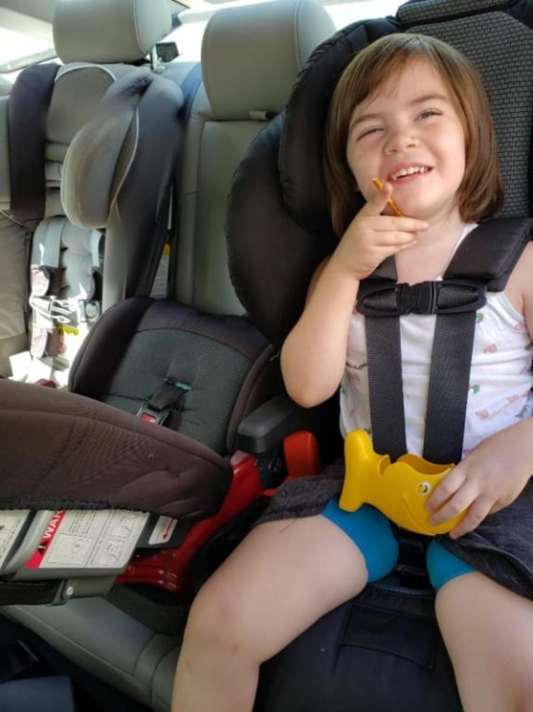 Berkshire Britax DualFit Harness Booster Car Seat