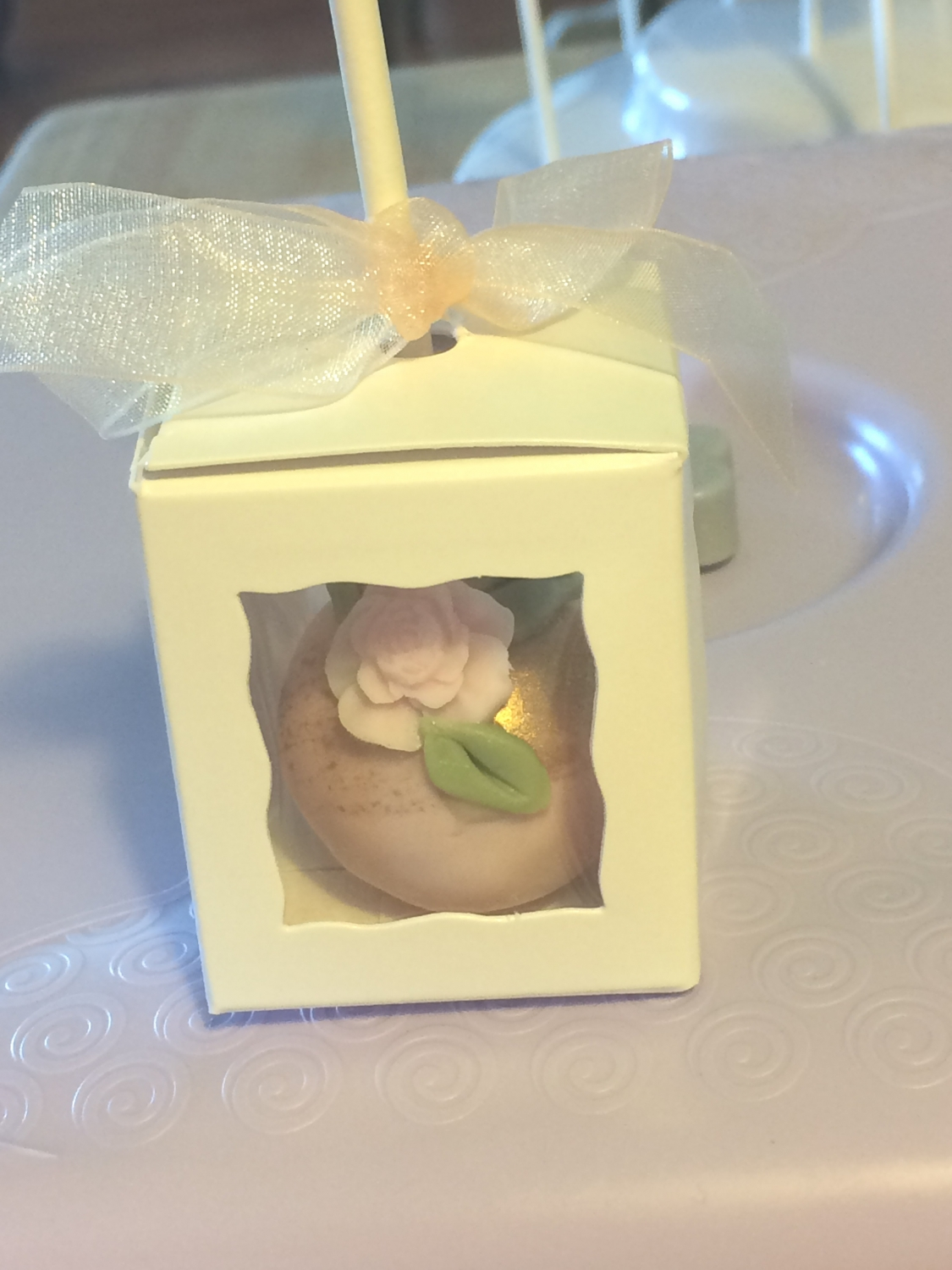 Excellent Little Cake Pop Singles Box So Cute And Dainty With My Ballerina Inside Easy To Emble