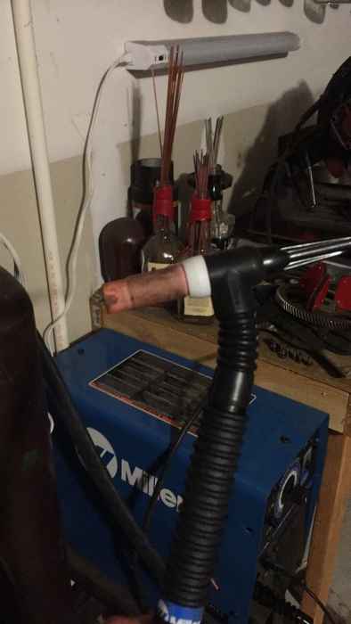 Details about  /Blue Demon TIG Torch,150 Amp Air Cooled GTAW Free Shipping
