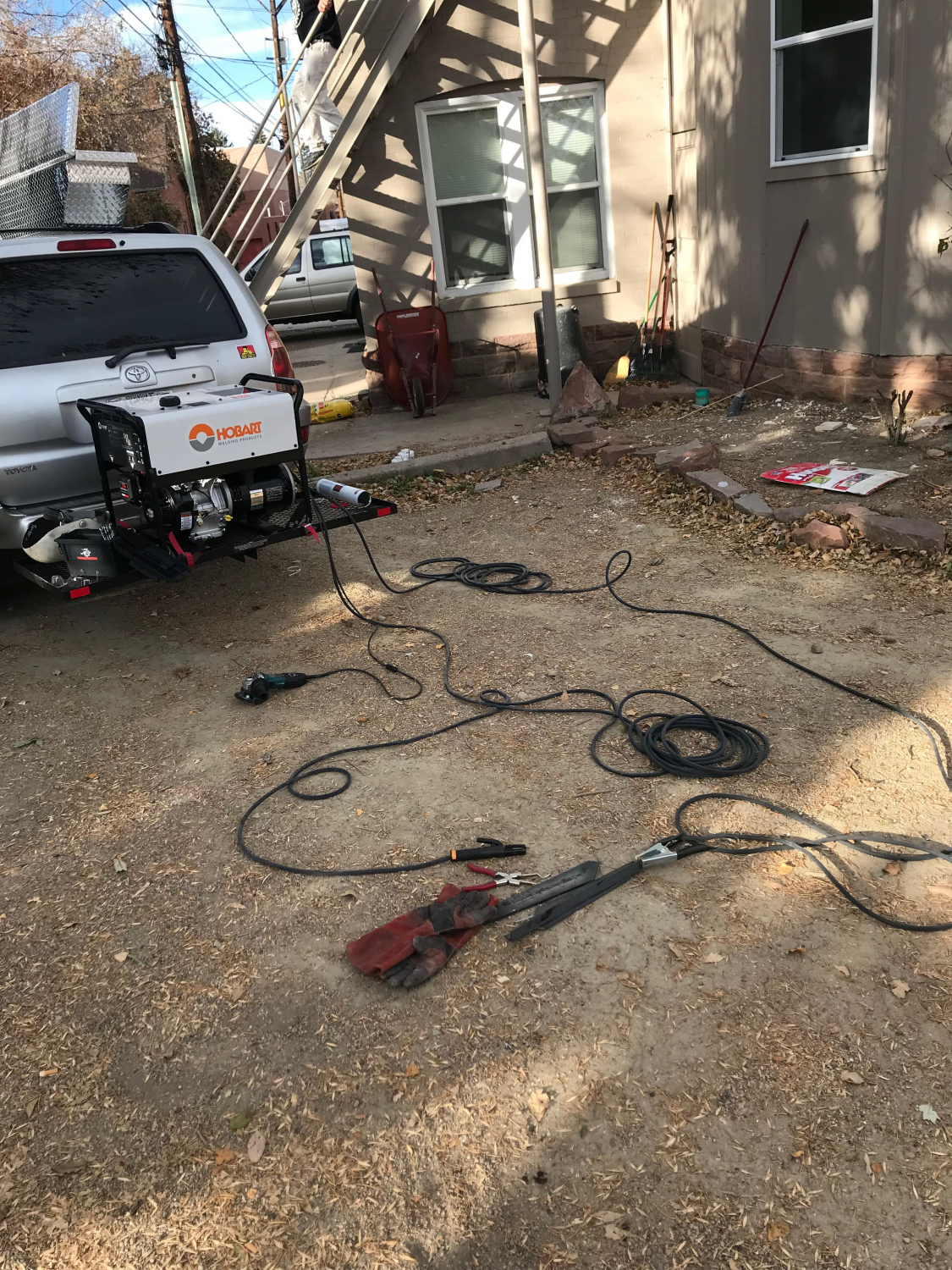 Hobart Champion 145 Welder 500563 Have A Horsepower Briggs And Stratton Engine That Was The Miller Bluestar Is Nice Comparable Machine But Its Way More Only Real Difference Kohler Also Has Coils