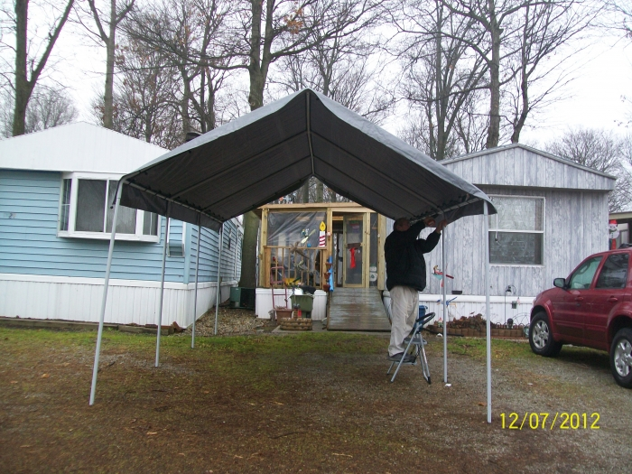 I would recommend this item to a friend. & King Canopy 10 x 20 Universal Outdoor Canopy Shelter - Silver