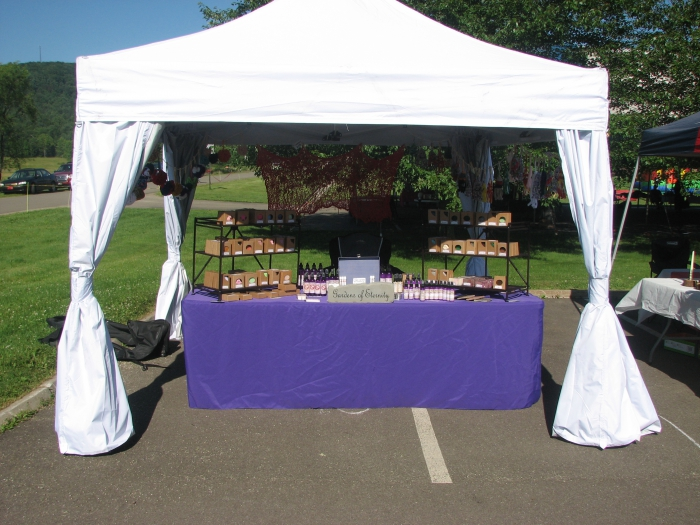 The curtains are extremely easy to use and the entire canopy goes up with only one person. I would suggest with any canopy even this one ... & UnderCover 10x10 R-3 Commercial Vending Frame Instant Canopy with ...