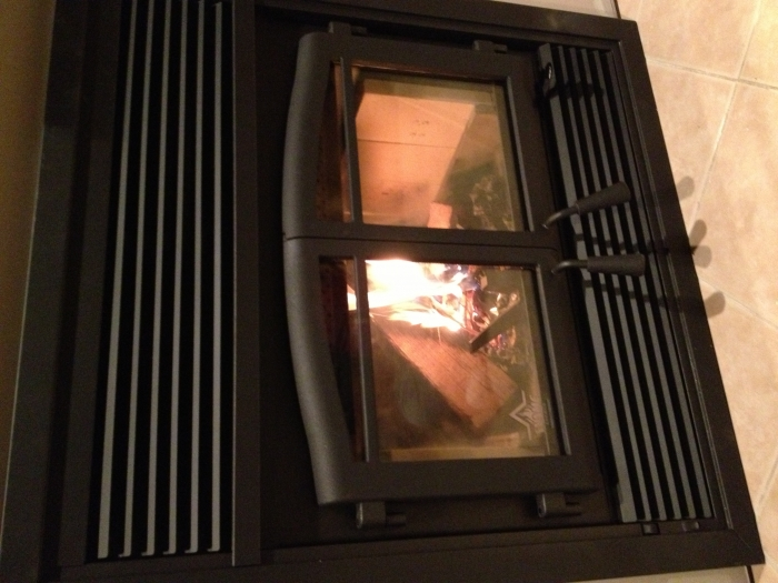 Osburn Stratford Zero Clearance Wood Stove Fireplace Fireplaces