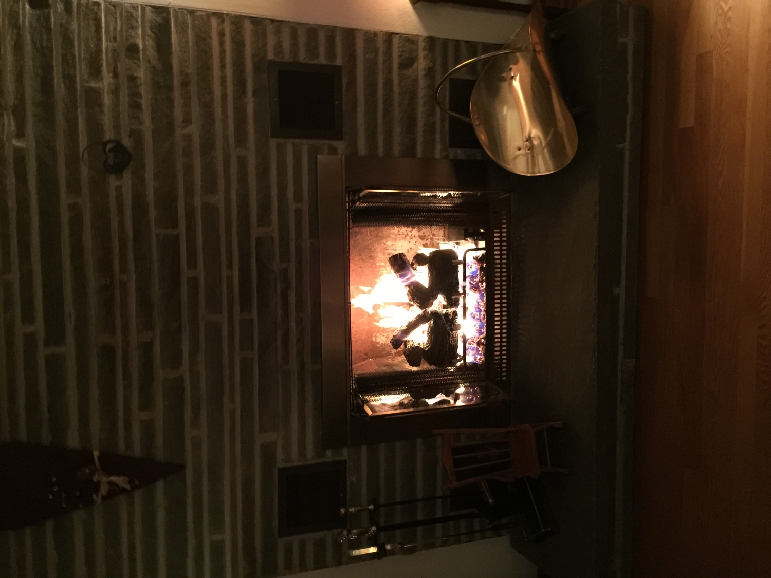 real flame gas fire instructions