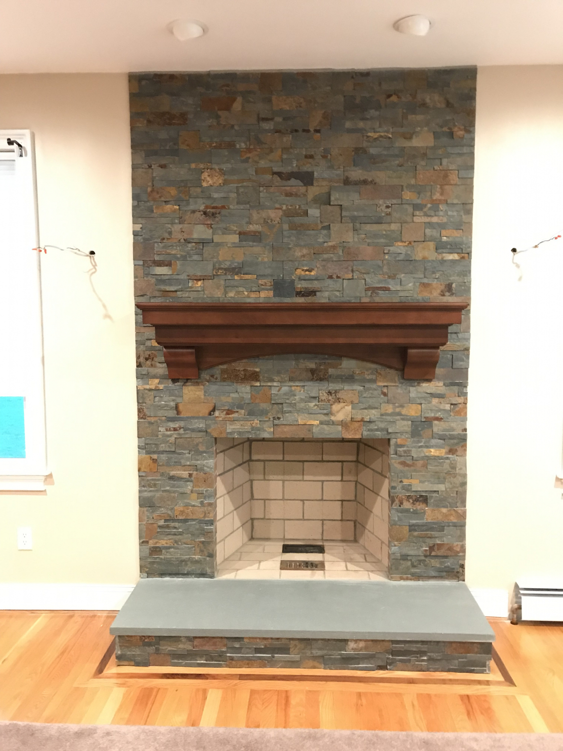 ff1ae009ef6af We were pleasantly surprised when our new mantel arrived. It is absolutely  beautiful. The quality is exceptional. My husband could not believe the way  it ...