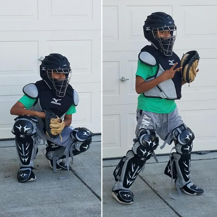 Mizuno Samurai Samseti Intermediate Baseball Catchers Gear Set