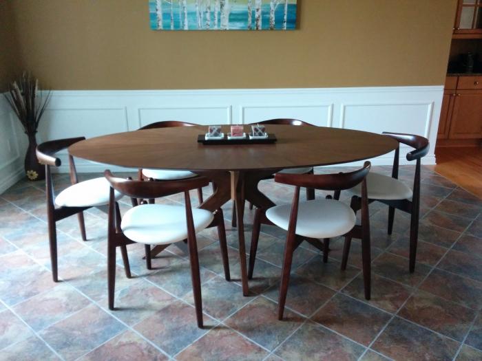 Superb Starburst Oval Dining Table Cjindustries Chair Design For Home Cjindustriesco