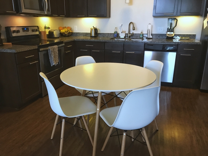 This Table Is Clean U0026 Beautiful! Itu0027s Great, Solid, Sturdy Construction And  Looks Great In My Kitchen!