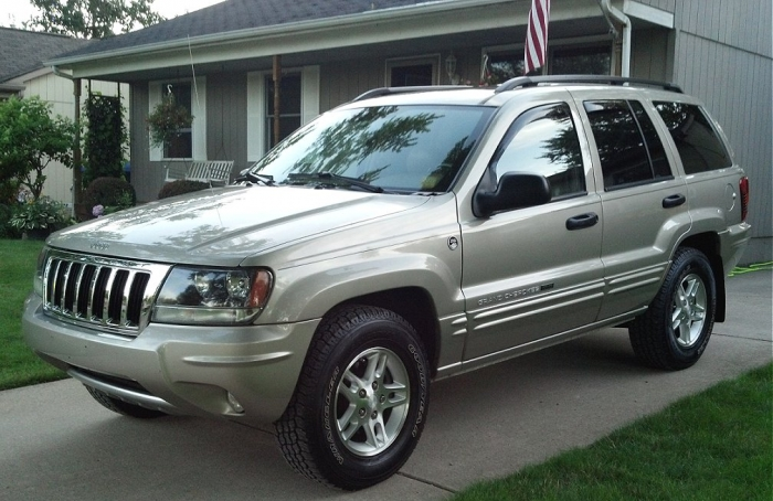 Wj Limited Chrome Grill 2004