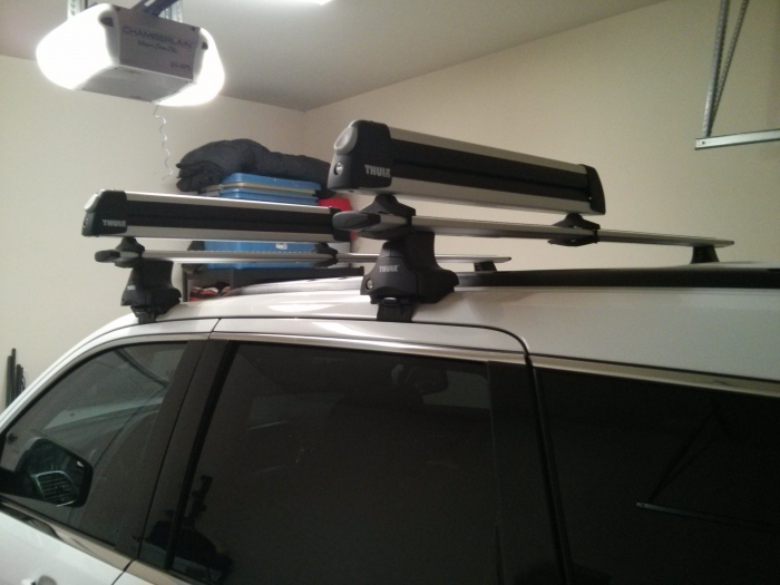 Thule Tr486056 Roof Rack Removable Justforjeeps Com