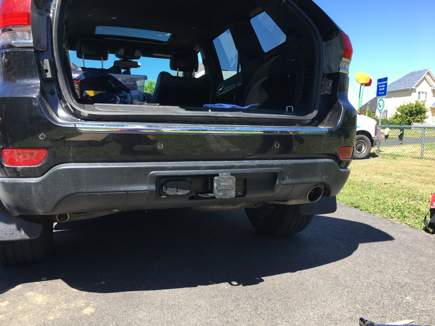 Jeep Grand Cherokee Hitch Receiver For 2011 2017 2014 Patriot Trailer Wiring With The Help Of 2 Peoples We Need Two Hours To Install Manual Is Very Helpful Thank You