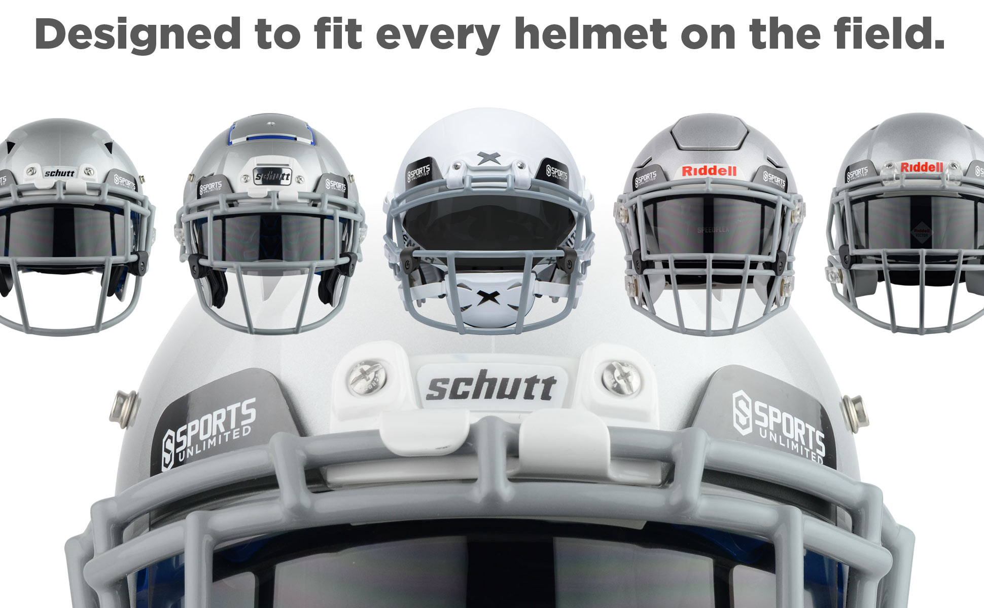 Fits Every Helmet on the Field