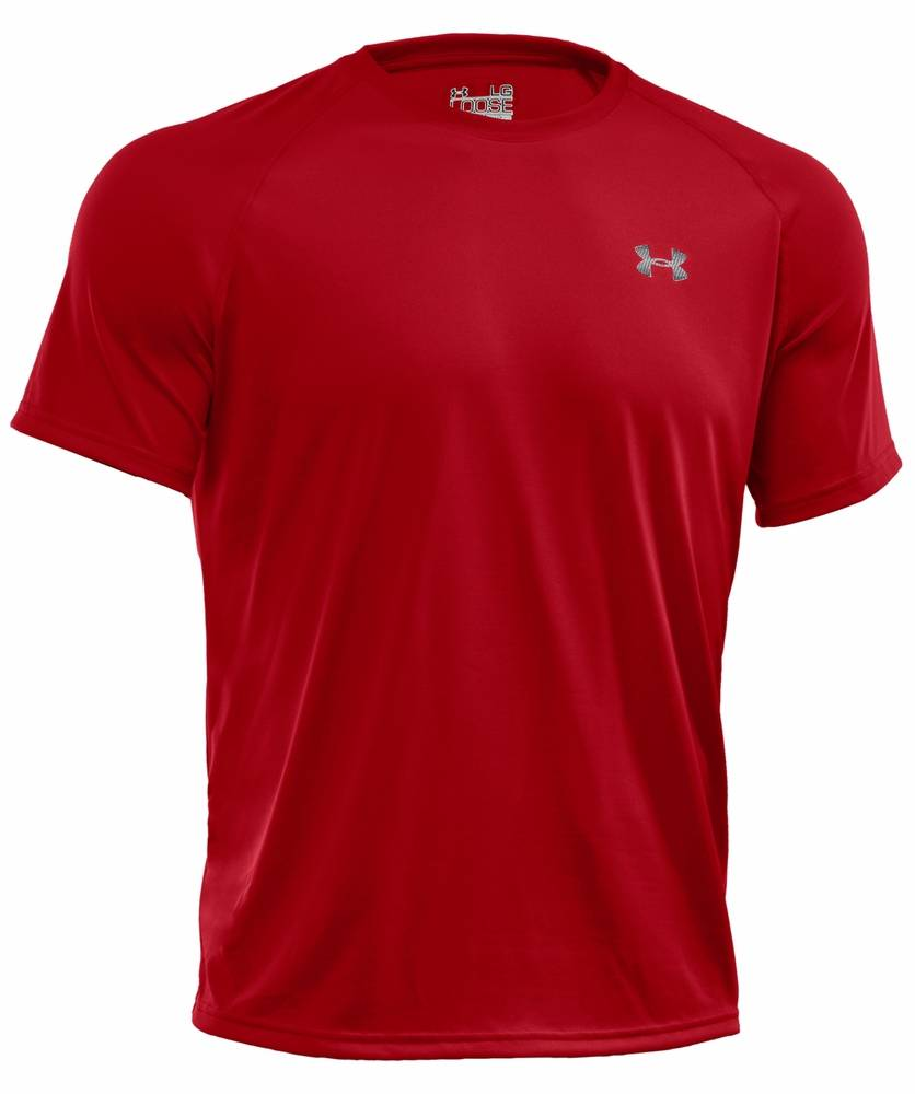 red under armour shirt