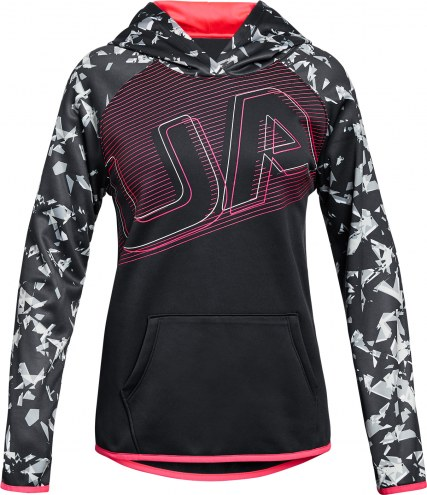 Under Armour Girls' Armour Fleece UA Logo Hoodie