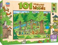 101 Things to Spot In the Woods 101 Piece Puzzle