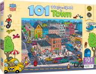 101 Things to Spot In Town 101 Piece Puzzle