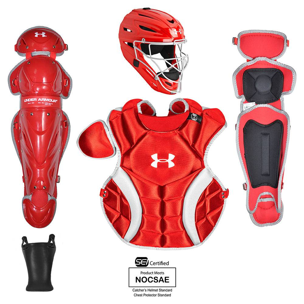 Under Armour Youth Pth Victory Series Catchers Gear Set Ages 7 9