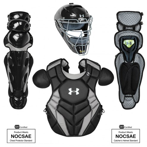 Under Armour Pro Series 4 NOCSAE Certified Youth Catcher's Set - Ages 9-12