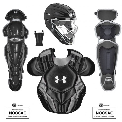 Under Armour Converge Victory Series 4 NOCSAE Certified Youth Catcher's Set - Ages 9-12