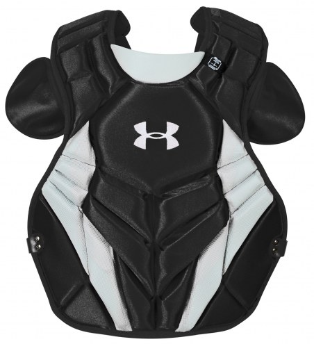 """Under Armour Victory Series 4 NOCSAE Certified Youth 13.5"""" Baseball Catcher's Chest Protector"""