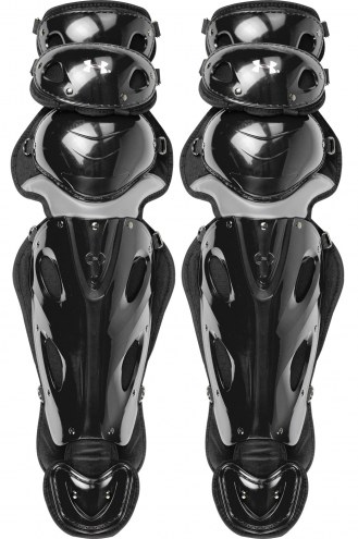"""Under Armour Pro4 14.5"""" Youth Baseball Catcher's Leg Guards"""