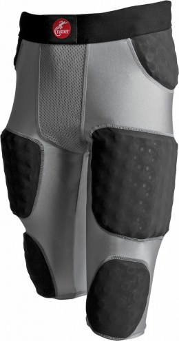 Cramer Hurricane 7 Pad Adult Integrated Football Girdle - Wrap Around Thigh Pads