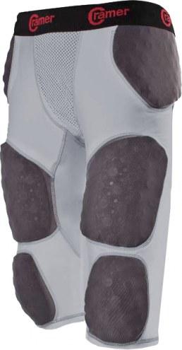 Cramer Thunder 7 Pad Adult Integrated Football Girdle - Hard Thigh Pads