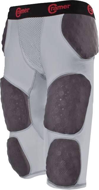 Hard Thigh Pads Cramer Thunder 5 Pad Adult Integrated Football Girdle