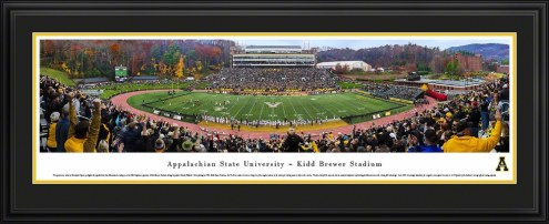 Appalachian State Mountaineers 50 Yard Line Stadium Panorama