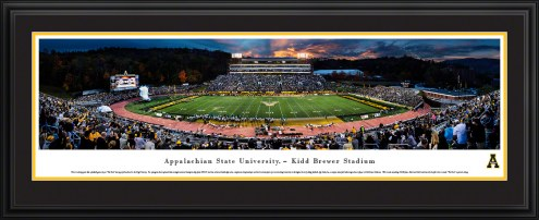 Appalachian State Mountaineers Football at Sunset Panorama