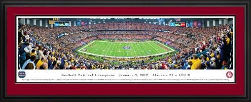 Alabama Crimson Tide BCS Champs 2011 Panorama