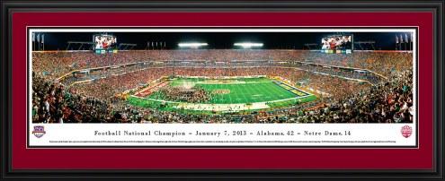 Alabama Crimson Tide BCS Champs 2012 Panorama