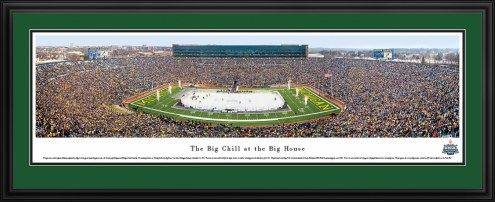 Michigan State Spartans vs. Michigan Wolverines Hockey Panorama