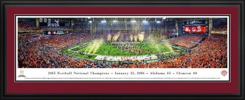 Alabama Crimson Tide 2016 CFP Champions Panorama