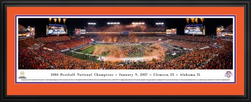 Clemson Tigers 2017 College Football National Champions Panorama