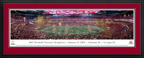 Alabama Crimson Tide 2018 College Football National Champion Panorama
