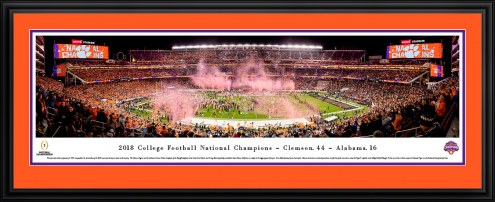 Clemson Tigers 2019 College Football National Champions Panorama